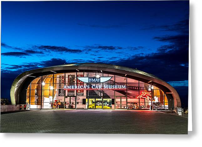Lemay Car Museum - Night 2 Greeting Card