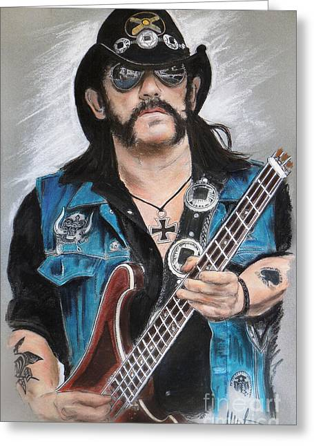 Lemmy Greeting Card by Melanie D