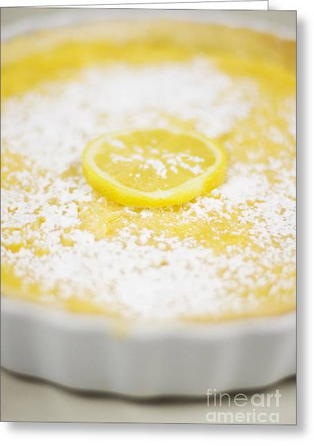 Lemon Curd Tart Greeting Card