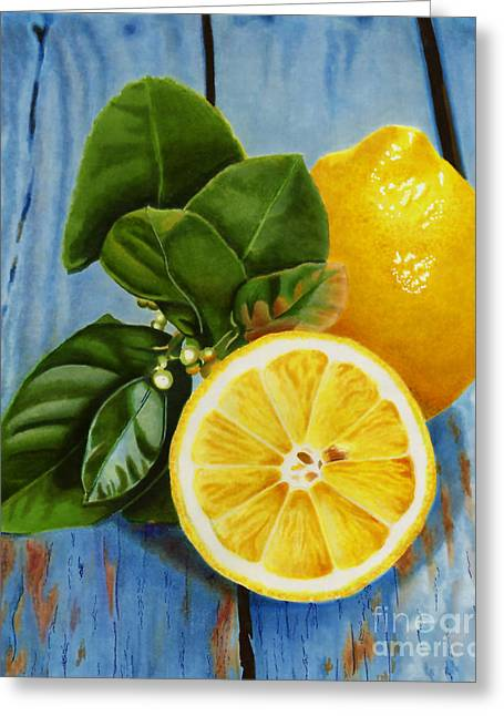 Lemon Fresh Greeting Card