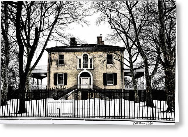 Lemon Hill Mansion - Philadelphia Greeting Card by Bill Cannon
