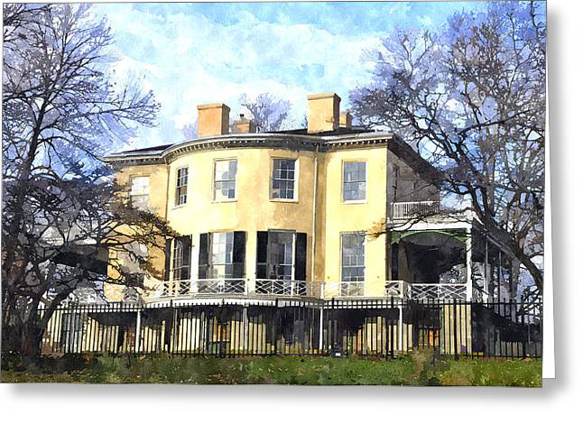 Lemon Hill Mansion Greeting Card
