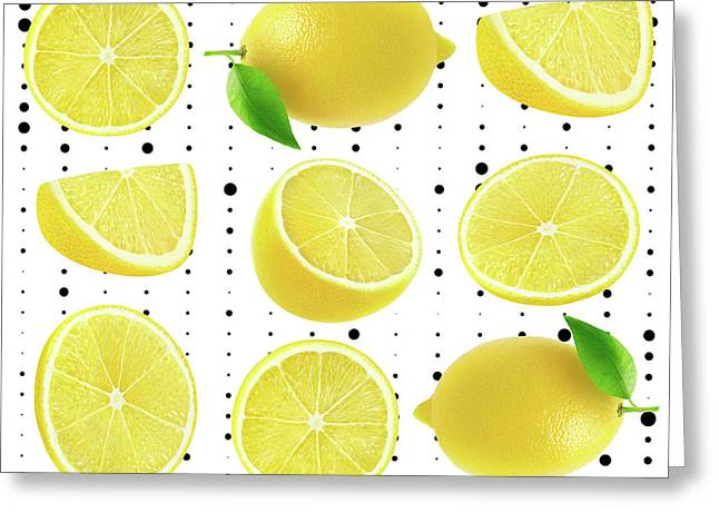 Lemon  Greeting Card