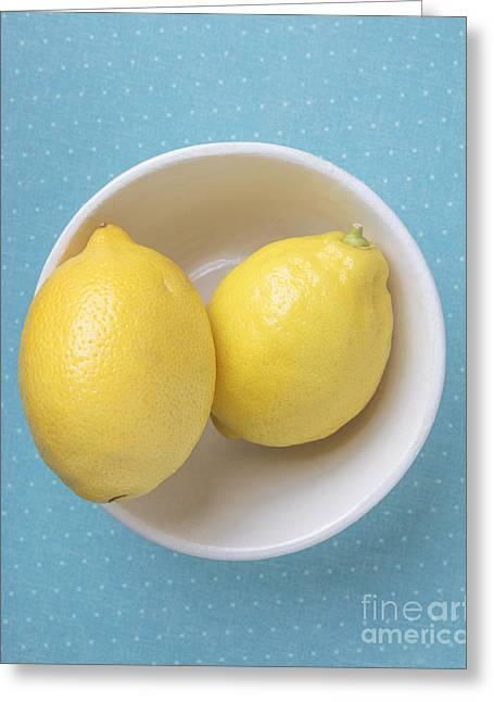 Lemon Pop Greeting Card by Edward Fielding