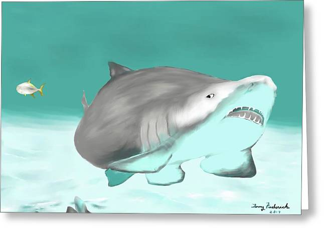 Lemon Shark Greeting Card