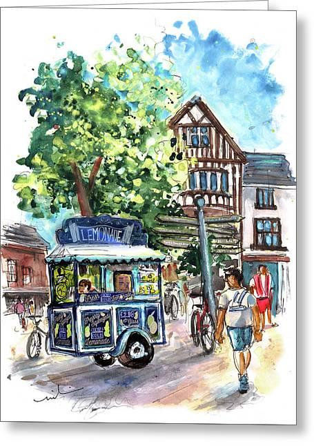 Lemonade Van In York Greeting Card