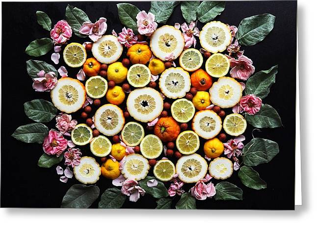 Lemonade Vibes Greeting Card