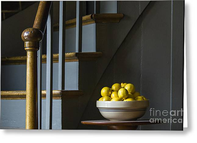Lemons - D009753 Greeting Card by Daniel Dempster