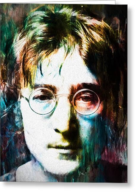 Lennon Tribute Greeting Card