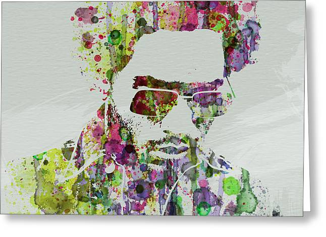 Lenny Kravitz 2 Greeting Card by Naxart Studio