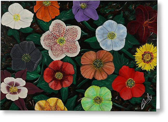 Lenten Roses Greeting Card