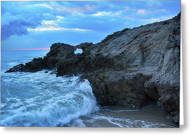 Leo Carrillo State Beach Arch Greeting Card by Kyle Hanson