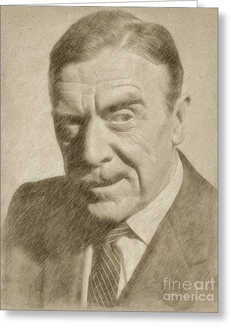 Leo G. Carroll, Actor Greeting Card