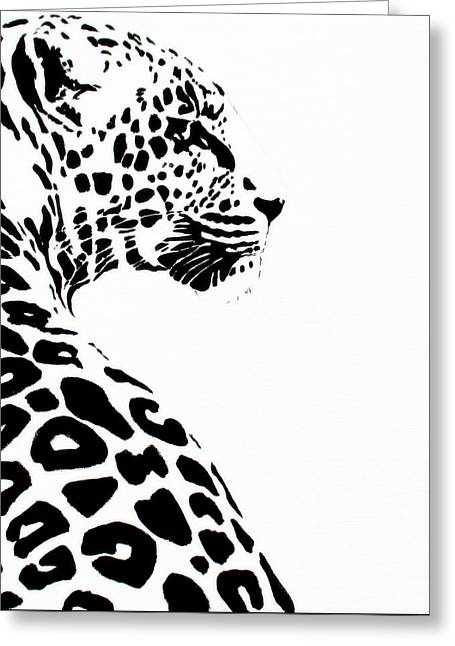 Leo-pard Greeting Card