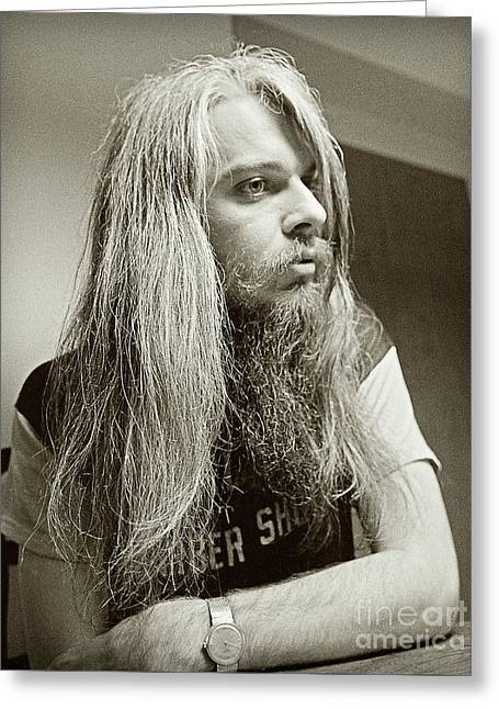 Leon Russell 1970 Greeting Card