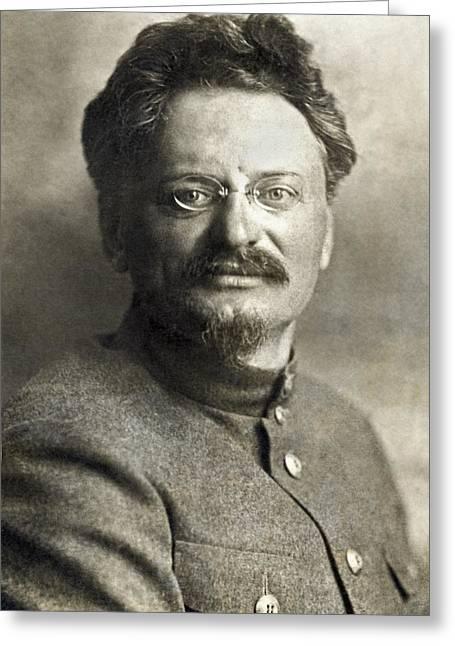 Leon Trotsky Greeting Card