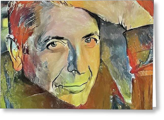 Leonard Cohen Tribute 6 Greeting Card