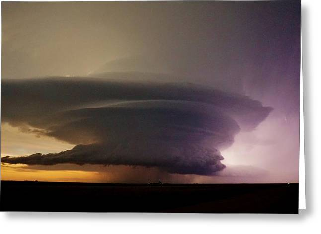 Leoti, Ks Supercell Greeting Card