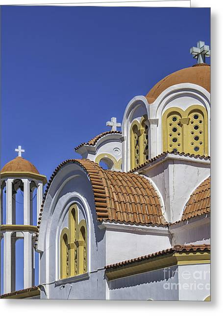 Lerapetra Church Close Up Greeting Card
