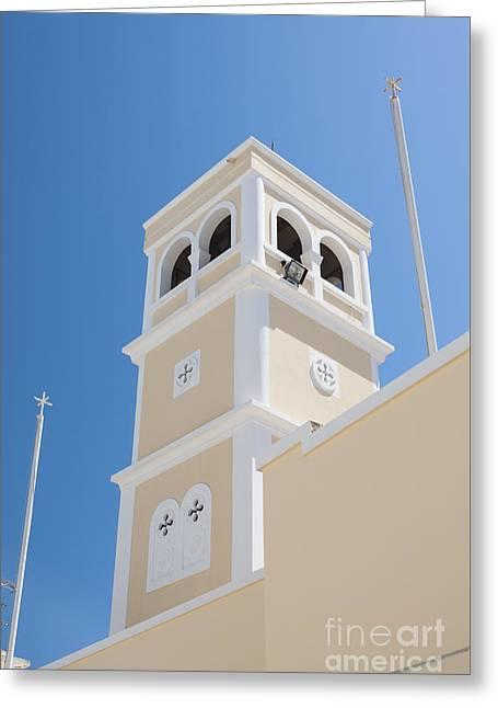 Lerapetra Church Steeple Greeting Card