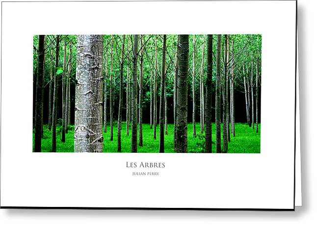 Les Arbres Greeting Card
