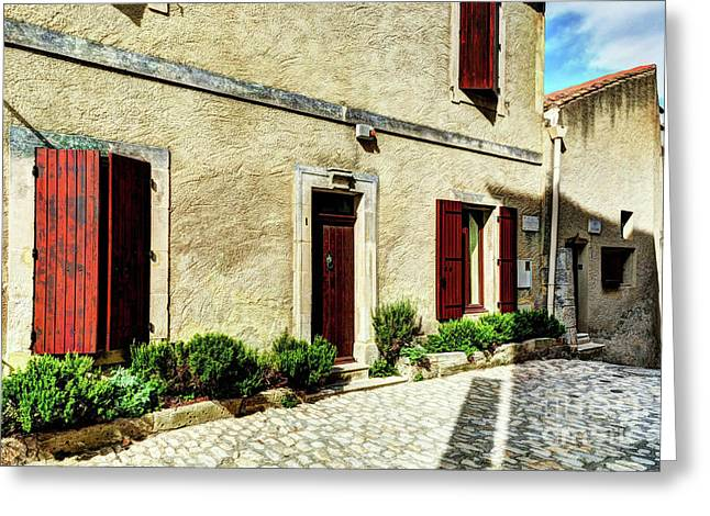 Les Baux De Provence 8 Greeting Card by Mel Steinhauer