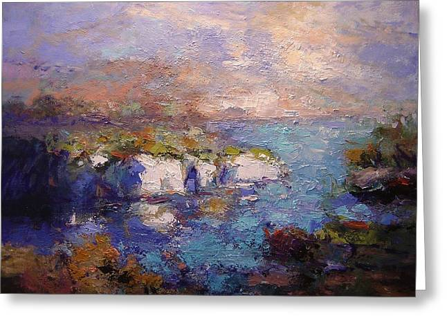 Les Calanques In Bright Light IIi Greeting Card