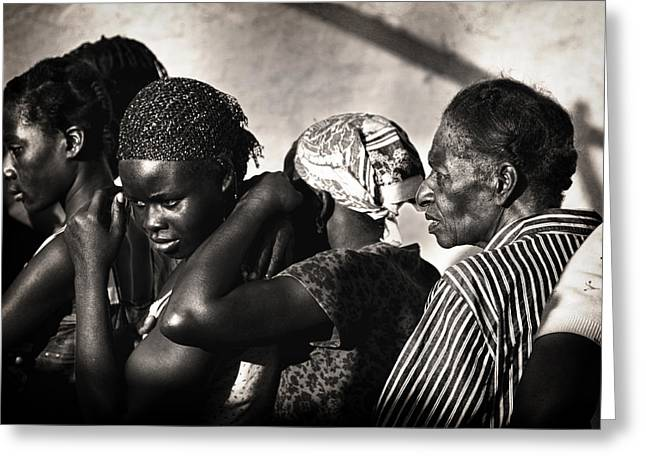 Documentary Photography Greeting Cards - Les Hattes Greeting Card by Mauricio Jimenez