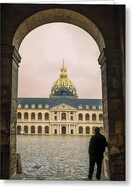 Les Invalides Paris Greeting Card
