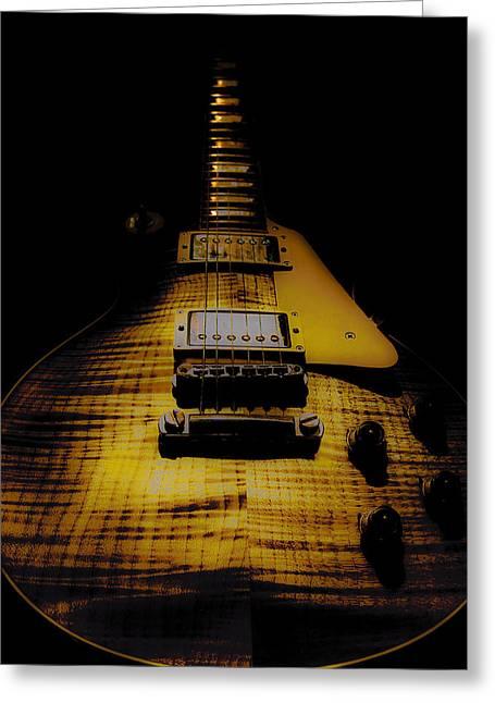 1958 Reissue Guitar Spotlight Series Greeting Card