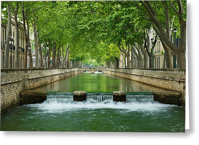 Les Quais De La Fontaine Greeting Card