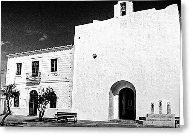 Fortified Church, Formentera Greeting Card