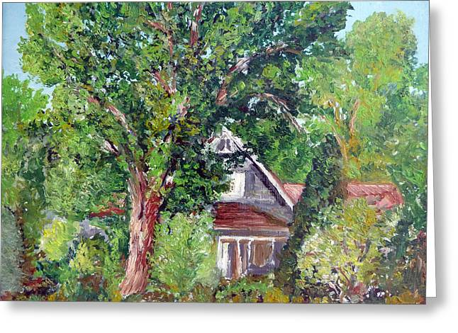 Lesher Homestead Boulder Co Greeting Card by Tom Roderick