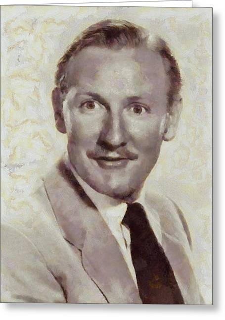 Leslie Phillips, Carry On Actor Greeting Card
