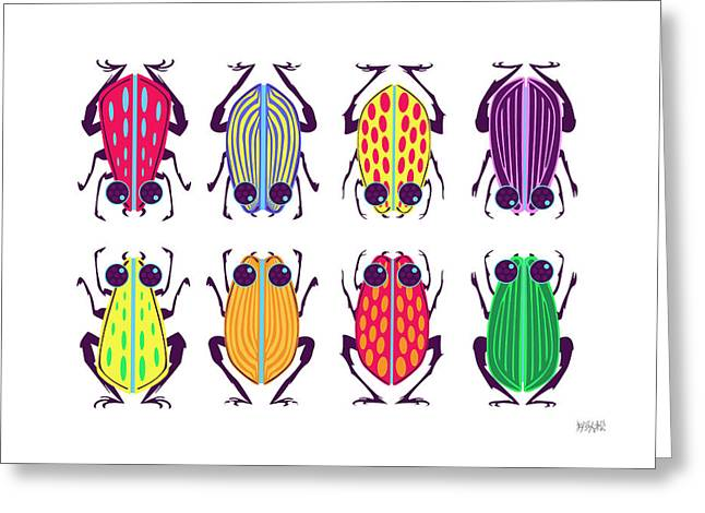 Less-than-creepy Crawlies Greeting Card