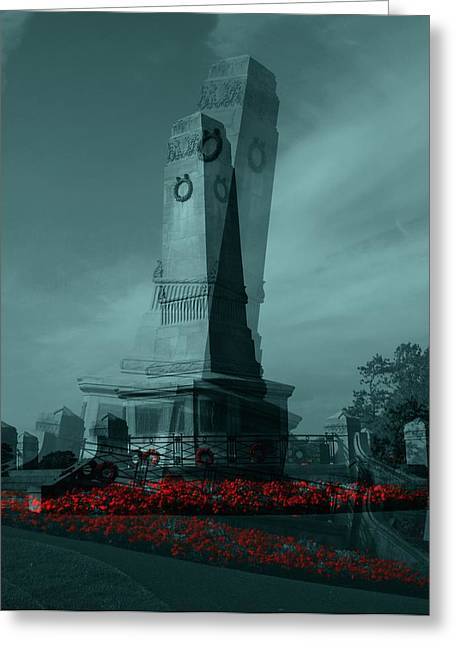 Lest We Forget. Greeting Card by Keith Elliott