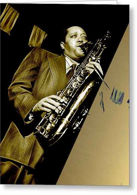 Lester Young Collection Greeting Card