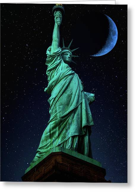 Greeting Card featuring the photograph Let Freedom Ring by Darren White