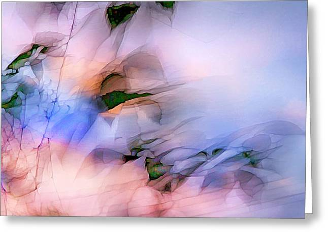 Greeting Card featuring the photograph Let The Winds Of The Heavens Dance by Theresa Tahara
