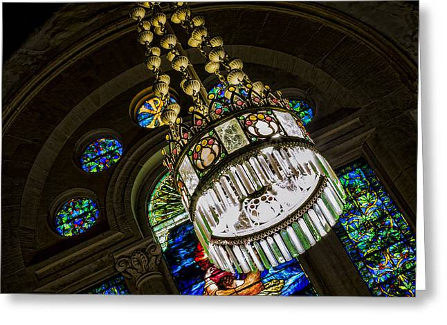 Let There Be Light Greeting Card by Stephen Stookey