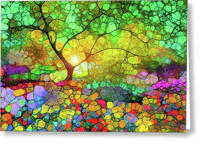 Let This Light Bring You Home Greeting Card