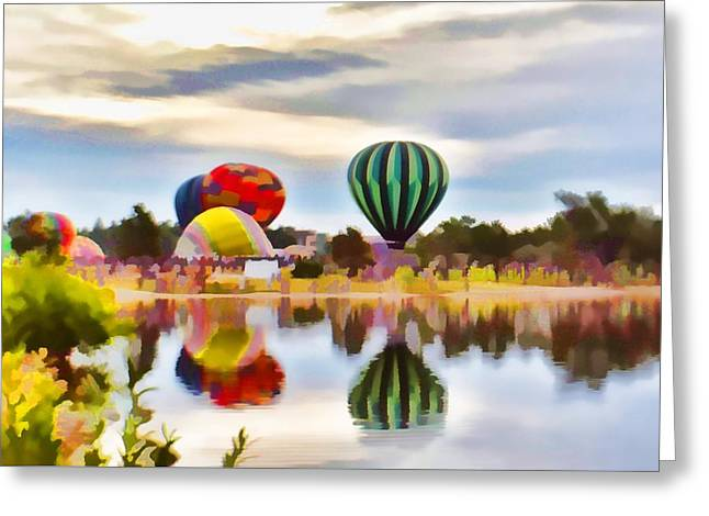 Let Your Heart Soar Greeting Card