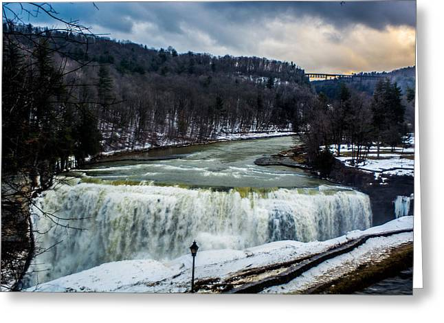 Letchworth State Park Greeting Card