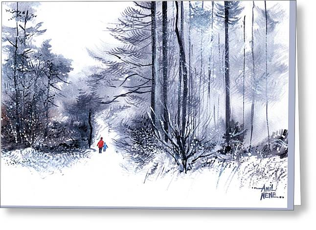 Let's Go For A Walk 2 Greeting Card