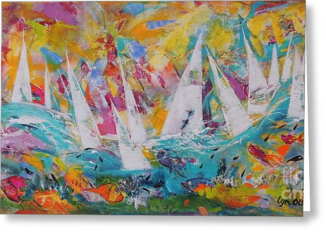 Lets Go Sailing Greeting Card