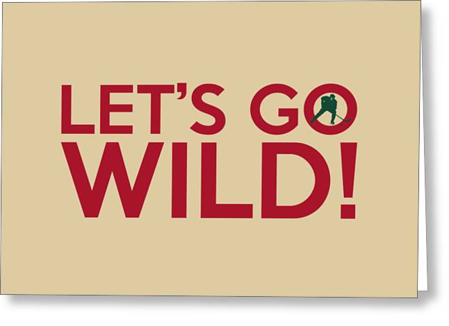 Let's Go Wild Greeting Card