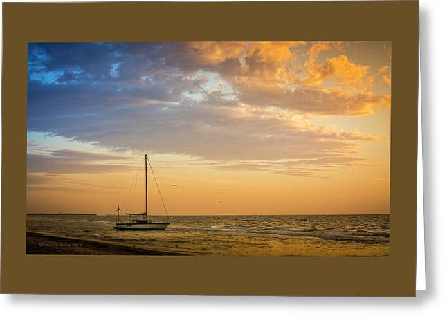 Let's Sail Away Greeting Card by Marvin Spates