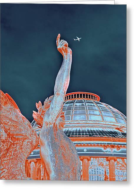 Letting Fly Greeting Card by Menega Sabidussi