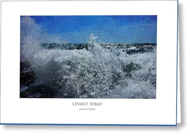 Levant Spray Greeting Card