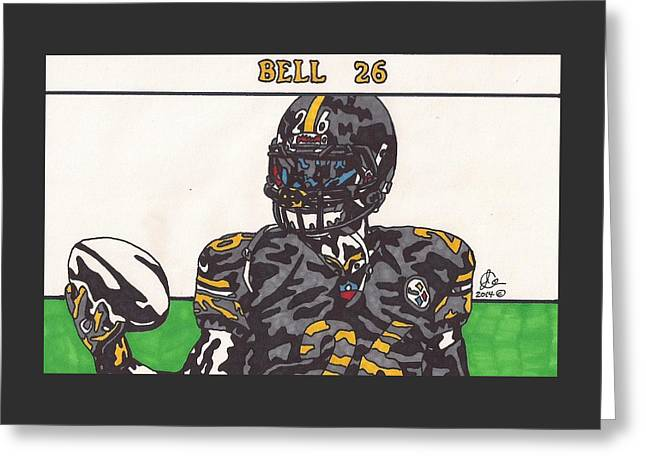 Le'veon Bell  Greeting Card
